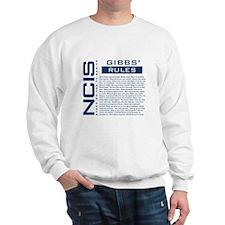 NCIS Gibbs' Rules Sweatshirt