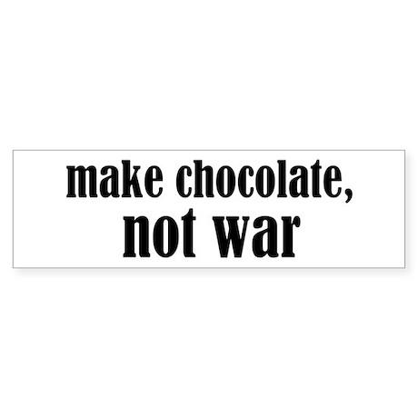 Make Chocolate Sticker (Bumper)