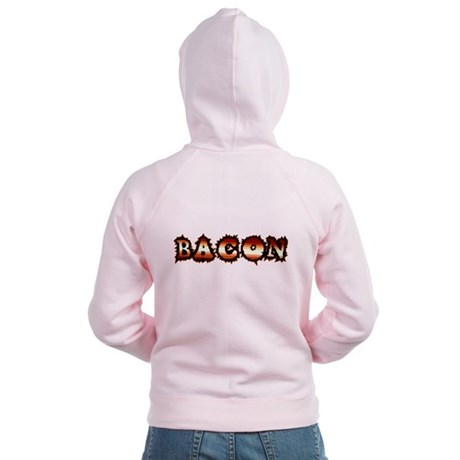 BACON Women's Zip Hoodie