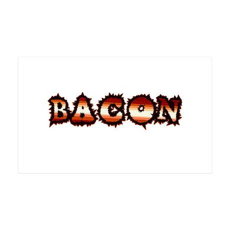 BACON 38.5 x 24.5 Wall Peel