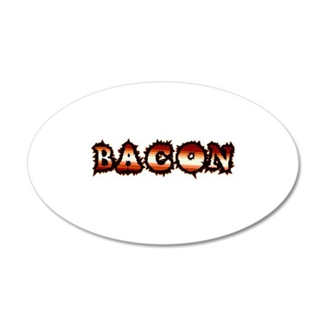 BACON 38.5 x 24.5 Oval Wall Peel