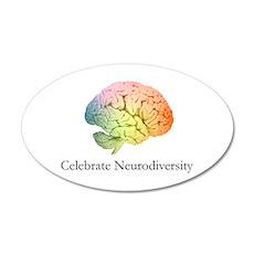 Celebrate Neurodiversity Wall Decal