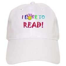 Love to Read Baseball Cap