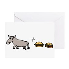 Assburgers Greeting Card