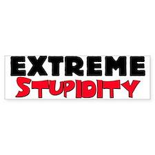 Extreme Stupidity