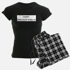 WWMD What Would Madea Do Pajamas