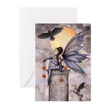 Autumn Raven Greeting Cards (Pk of 10)