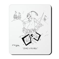 Y1K Virus Mousepad