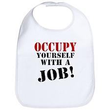 Occupy Yourself Bib