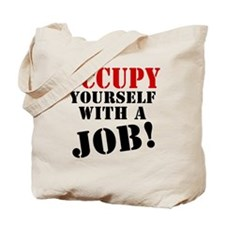 Occupy Yourself Tote Bag