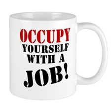 Occupy Yourself Small Mug