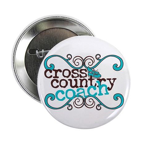 "Cross Country Coach 2.25"" Button"