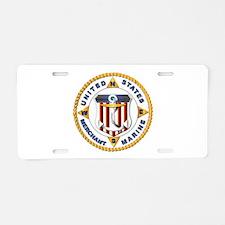 Emblem - US Merchant Marine - USMM Aluminum Licens