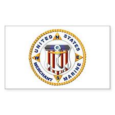 Emblem - US Merchant Marine - USMM Decal
