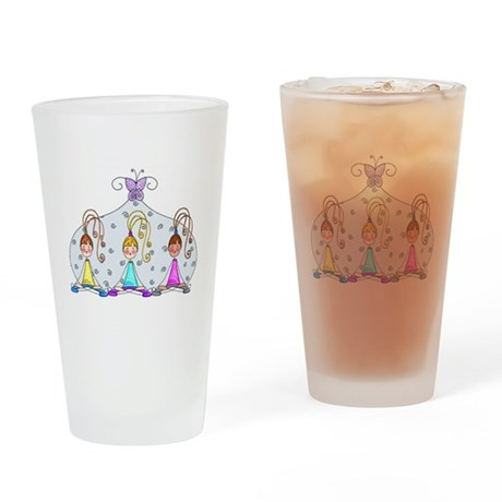 Yoga Trio Drinking Glass