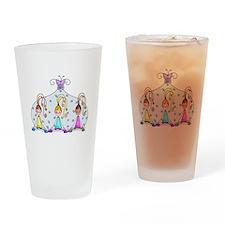 Yoga Trio Drinking Glass