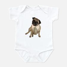 The Professional Pug Infant Creeper