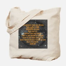 In the Beginning... Tote Bag