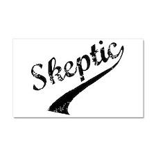 Skeptic Car Magnet 20 x 12