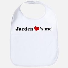 Jaeden loves me Bib