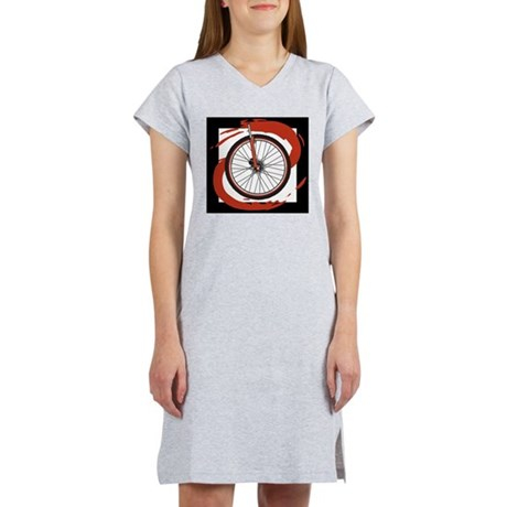 Bicycle Wheel Women's Nightshirt