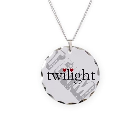 Team Twilight Necklace Circle Charm