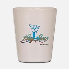 Hang Loose Shot Glass