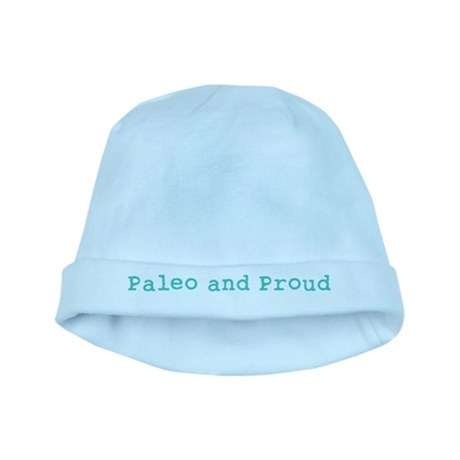 Paleo and Proud - Turquoise baby hat