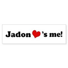 Jadon loves me Bumper Bumper Sticker