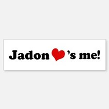 Jadon loves me Bumper Bumper Bumper Sticker