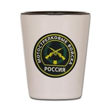 Mechanized Infantry Patch Shot Glass