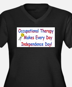 Occupational Therapy Makes Ev Plus Size T-Shirt