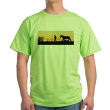 Girl and Horse at Sunset T-Shirt