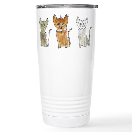 Cats Stainless Steel Travel Mug