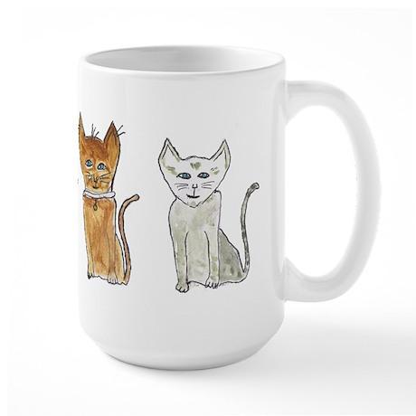 Cats Large Mug