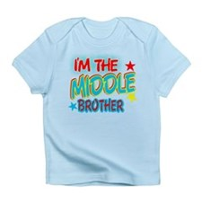 I'M THE MIDDLE BROTHER Infant T-Shirt