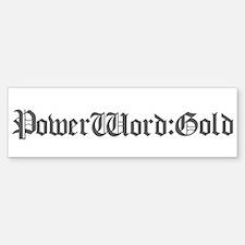 PW:G Logo - Sticker (Bumper)
