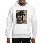 Metal Rock Skull Cross Hoodie Hooded Sweatshirt