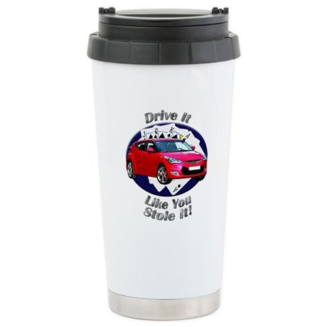 Hyundai Veloster Stainless Steel Travel Mug