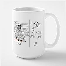 Them and Us Ceramic Mugs