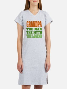 Grandpa - The Legend Women's Nightshirt