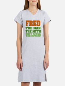 FRED - The Legend Women's Nightshirt