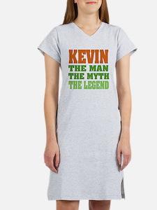 KEVIN - The Legend Women's Nightshirt