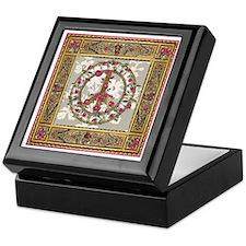 Elegant Peace Victorian Keepsake Box