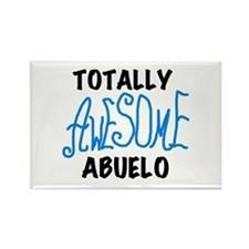 Totally Awesome Abuelo Rectangle Magnet
