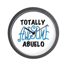 Totally Awesome Abuelo Wall Clock