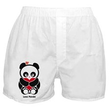 Love Panda Boxer Shorts