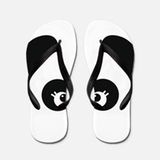 Love Panda Flip Flops