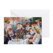 Renoir - Boating Party Greeting Cards (Pk of 20)