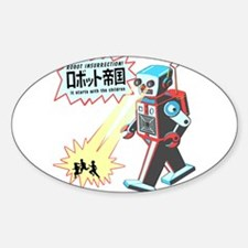 Robot Insurrection Sticker (Oval)